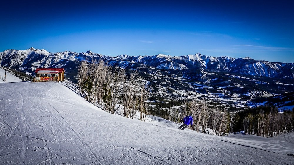 Hit up Big Sky's mid-mountain burrito shack for a morning pick-me-up. - © Eric Slayman