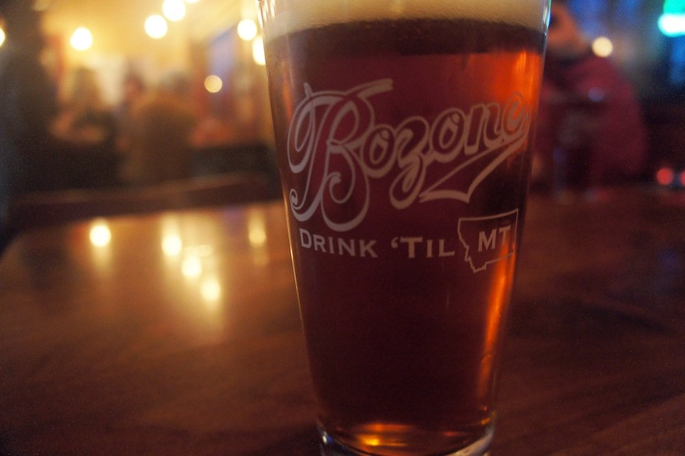Bozeman Brewing Company's Bozone Select Amber Ale. - © James Robles