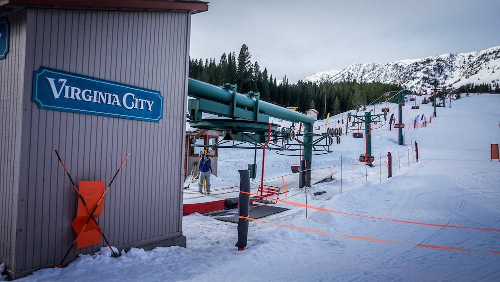 Even with its new lift improvements Bridger Bowl retains some of its original flair. - © Eric Slayman