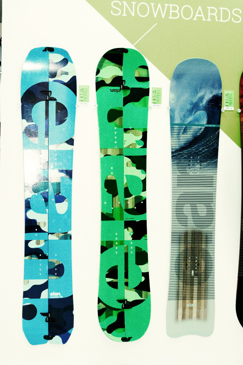 All-Terrain Snowboard Kollektion von Elan  - © Stefan Drexl