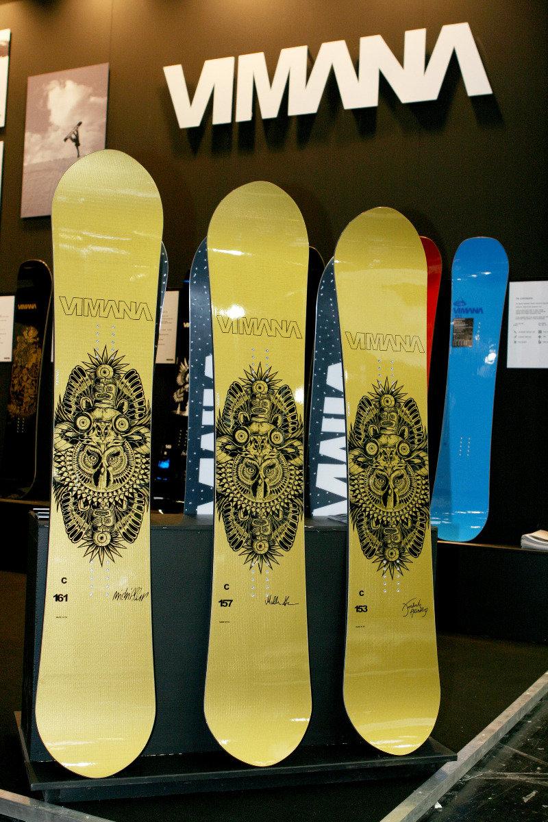 Unter dem Namen The Clone haben die Snowboarder Markku Koski, Frederik Austbo und Michi Albin eine Signature-Serie in drei verschiedenen Längen mit Designs von Shallowtree bekommen - © Stefan Drexl
