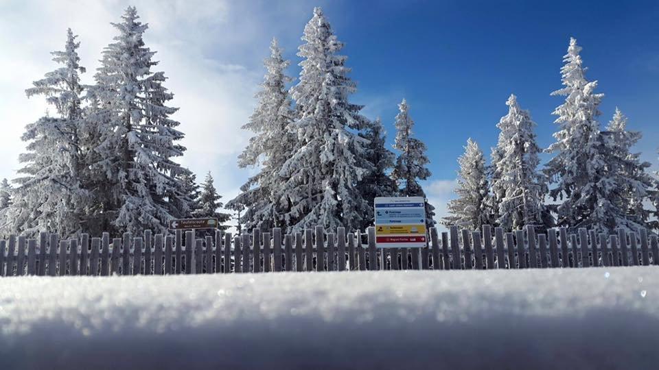 Neuschnee in Alpendorf am 17.2.16 - © Alpendorf Bergbahnen