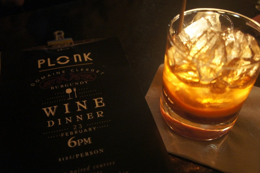 Plonk mixes more than just drinks—check out their scrumptious menu and extensive wine cellar. - © James Robles
