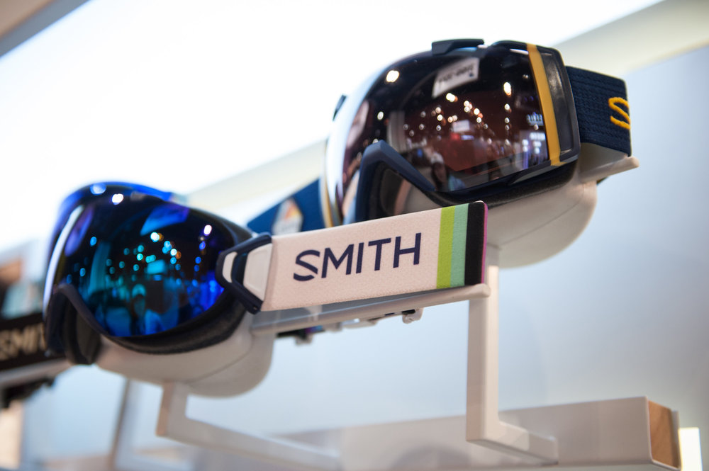Smith brings its ChromaPop lens technology into the new I/O goggle for winter 16/17, said to offer up enhanced visual clarity, greater definition and natural color in a full range of weather conditions. - © Ashleigh Miller Photography