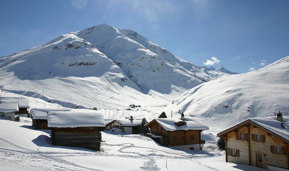 Hier seht ihr den Ortsteil Juppa - © www.skilifte-avers.ch