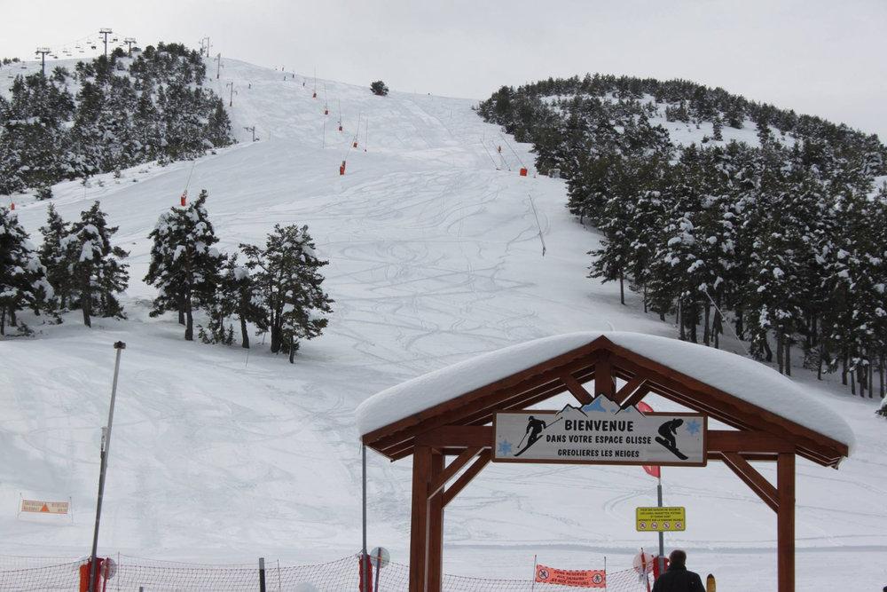 Au départ des pistes de ski de Gréolières les Neiges - © Page Facebook Gréolières les Neiges