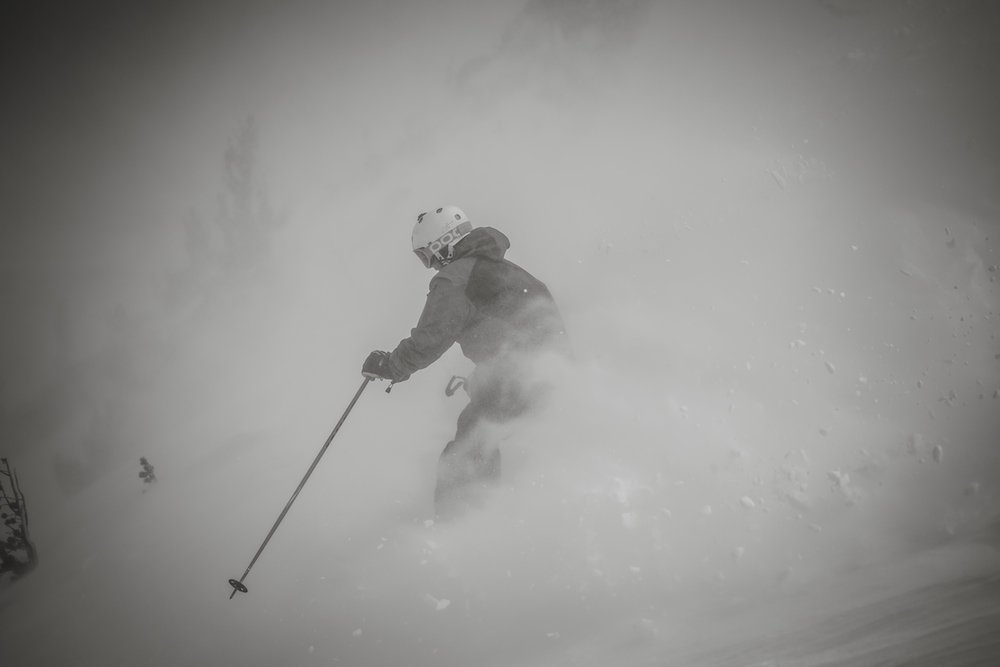 Mammoth Mountain records over 4 feet of snow in just a few days. - © Peter Morning