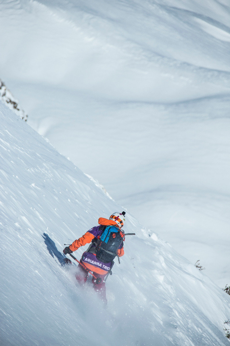 Arianna Tricomi (ITA) - © Freeride World Tour | D. Daher