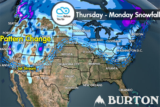 Snow Before You Go: Snow Returns to the West - © Meteorologist Chris Tomer