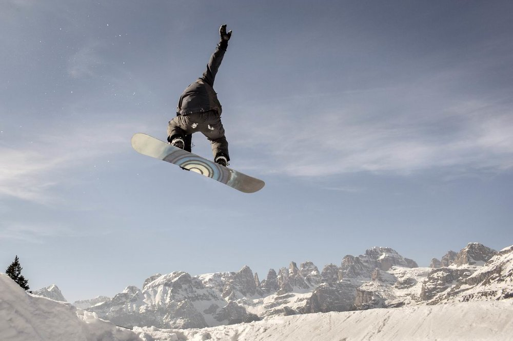 Snowboard w Trentino - © Daniele Lira, Trentino Marketing Photo Archive