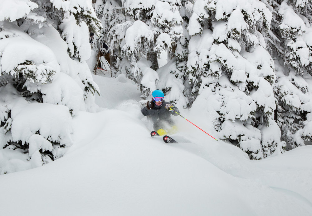 Whistler Blackcomb announced an extension to the ski season based on heavy March snowfall. - © Coast Mountain Photography