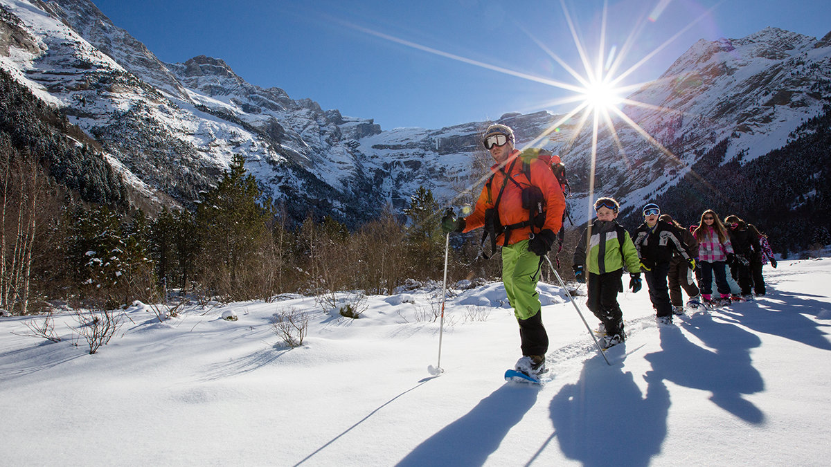 Výlety na sněžnicích v srdci Gavarnie - © Pierre Meyer / OT Gavarnie - Gèdre