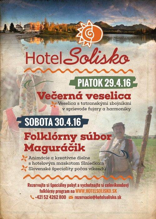 Folklórny víkend na Štrbskom Plese - © Hotel Solisko