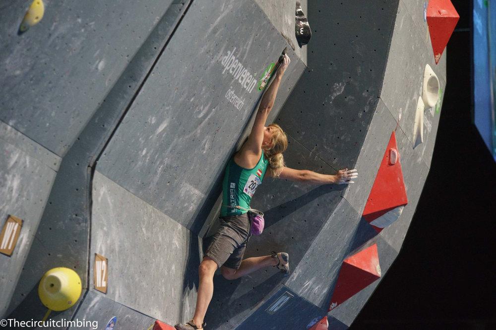 Berit Schwaiger (AUT) - ©IFSC | The Circuit Climbing | Eddie Fowke