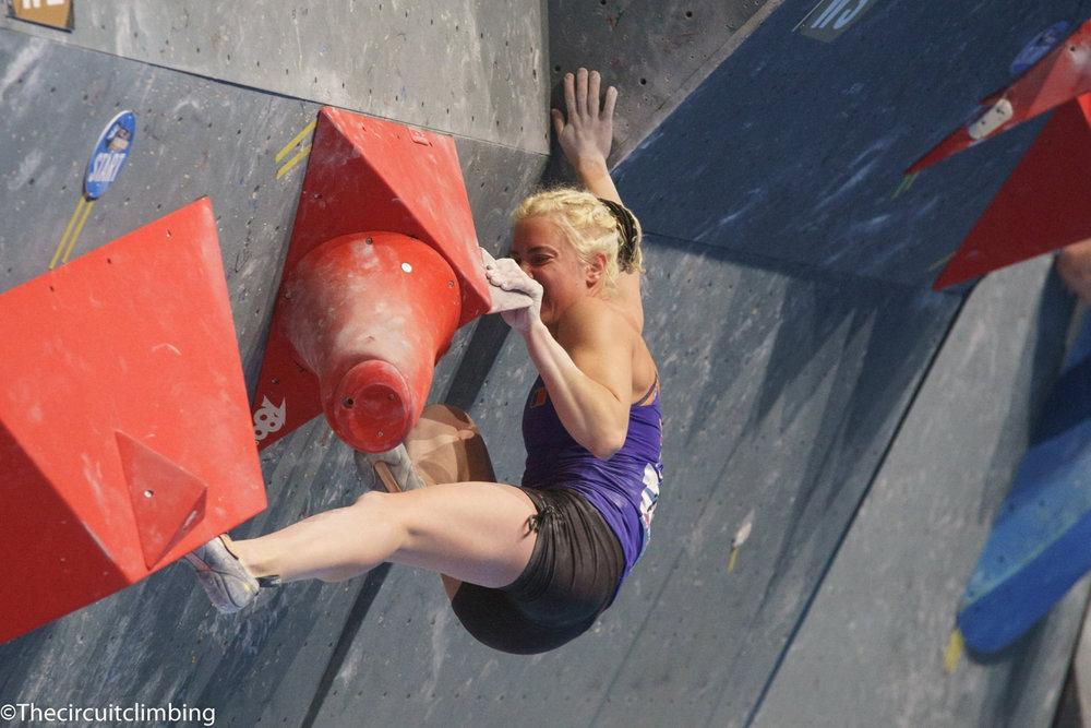 Michaela Tracy (GBR) - ©IFSC | The Circuit Climbing | Eddie Fowke