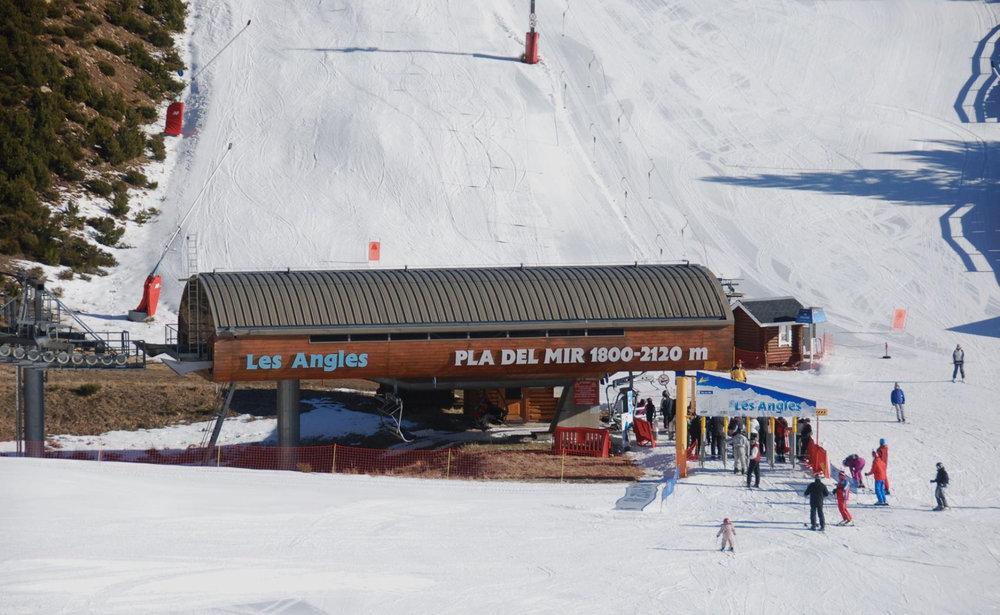 En route pour les pistes de ski des Angles - © Office de Tourisme des Angles
