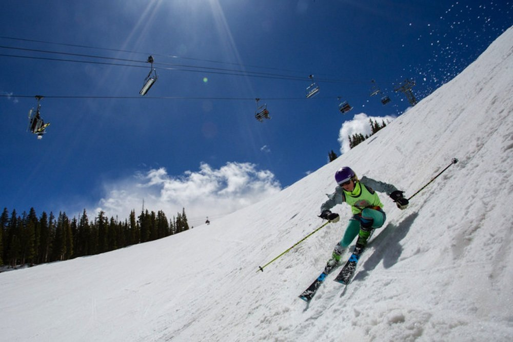 Skiing in Spanx is what spring is all about. - © Jeremy Swanson