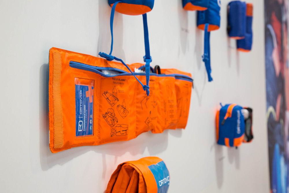 Ortovox Roll Doc ist ein gut aufgeteiltes Erste-Hilfe-Paket - ©Bergleben.de