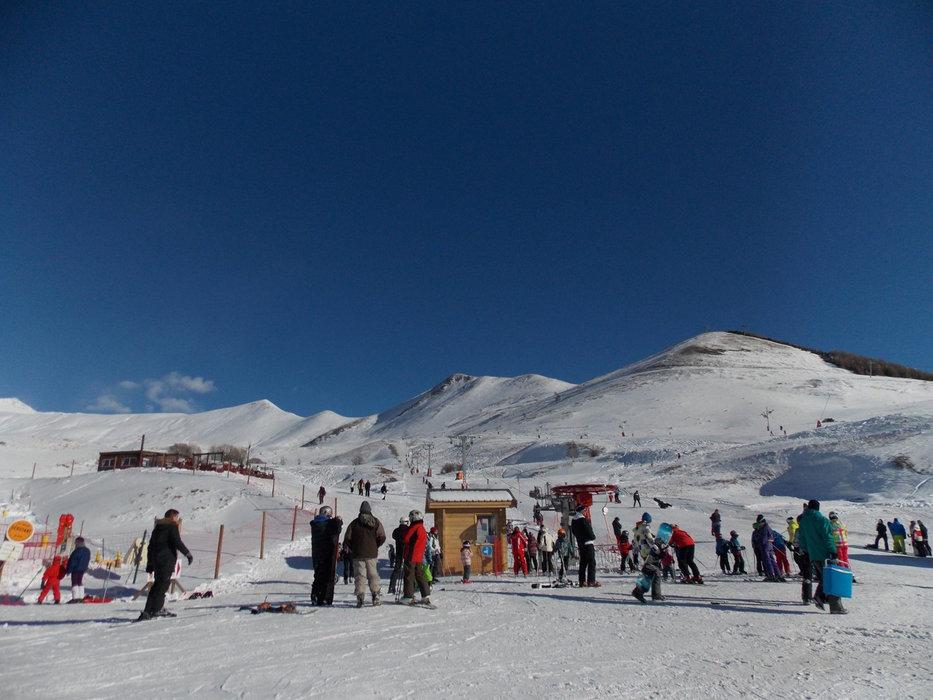 Le départ des pistes de ski du Chazelet - © OT de la Grave la Meige