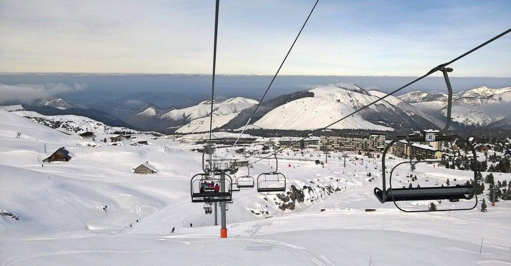 Vue générale sur la station de ski de La Pierre St Martin - © Office de Tourisme – La Pierre Saint-Martin / Vallée de Barétous