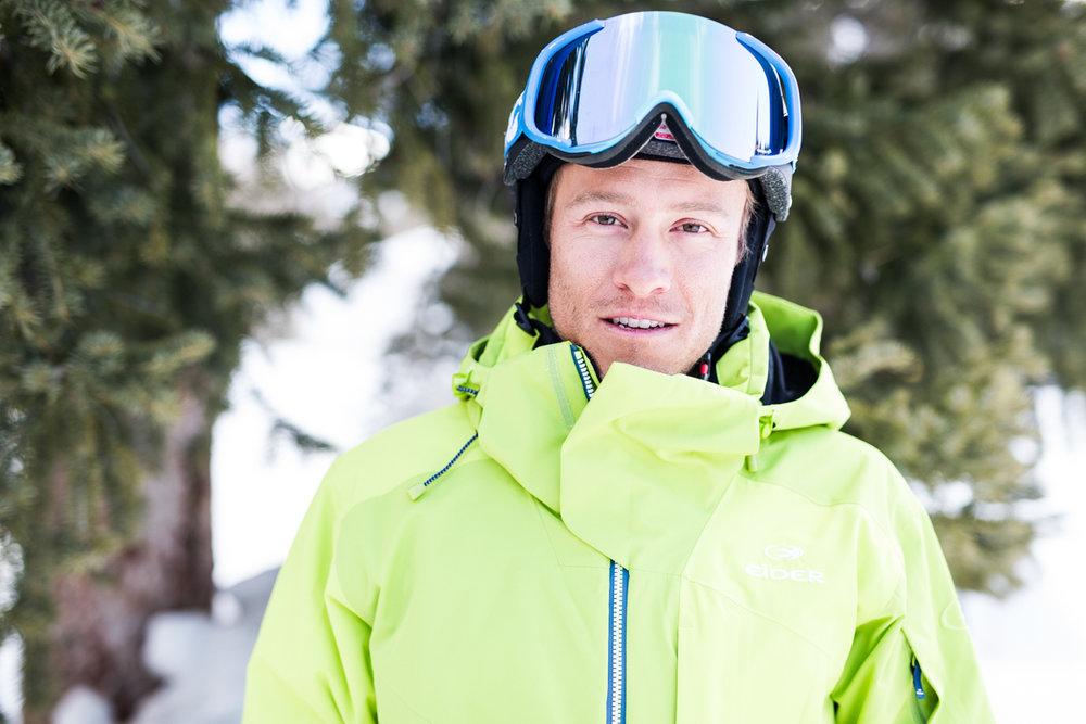 Adam Cole (33) er tidligere medlem av det amerikanske landslaget i alpint, og var verdensmester i utfor for juniorer. Nå er han deleier av Cole sport.  - © Liam Doran