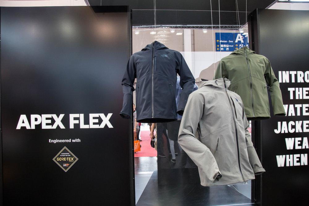 Coole Jacke: Die neue Apex Flex von The North Face - © Bergleben.de