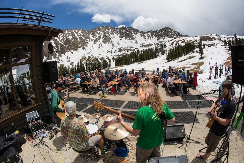 Shake a leg people, you're skiing in June! - © Dave Camara