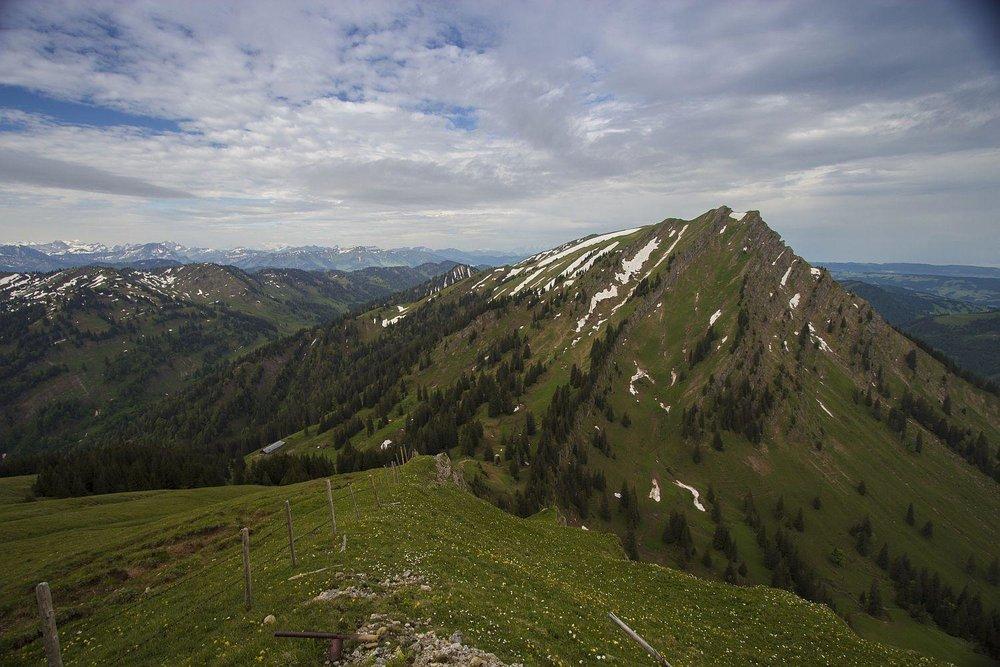 Blick in Richtung Rindalphorn - © Erika Spengler