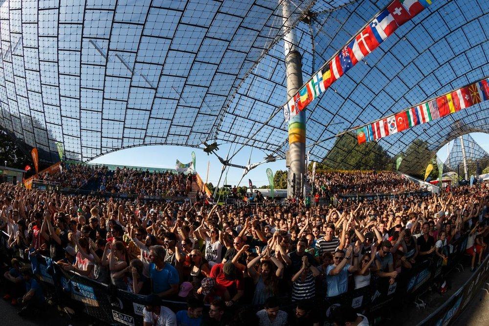 Boulder-Weltcup in München 2016 - © DAV / Marco Kost