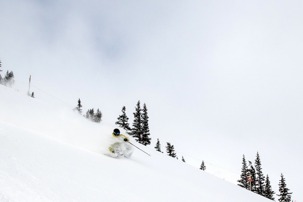"""Now, where to pole plant in all this pow?"" - © Breckenridge Ski Resort"