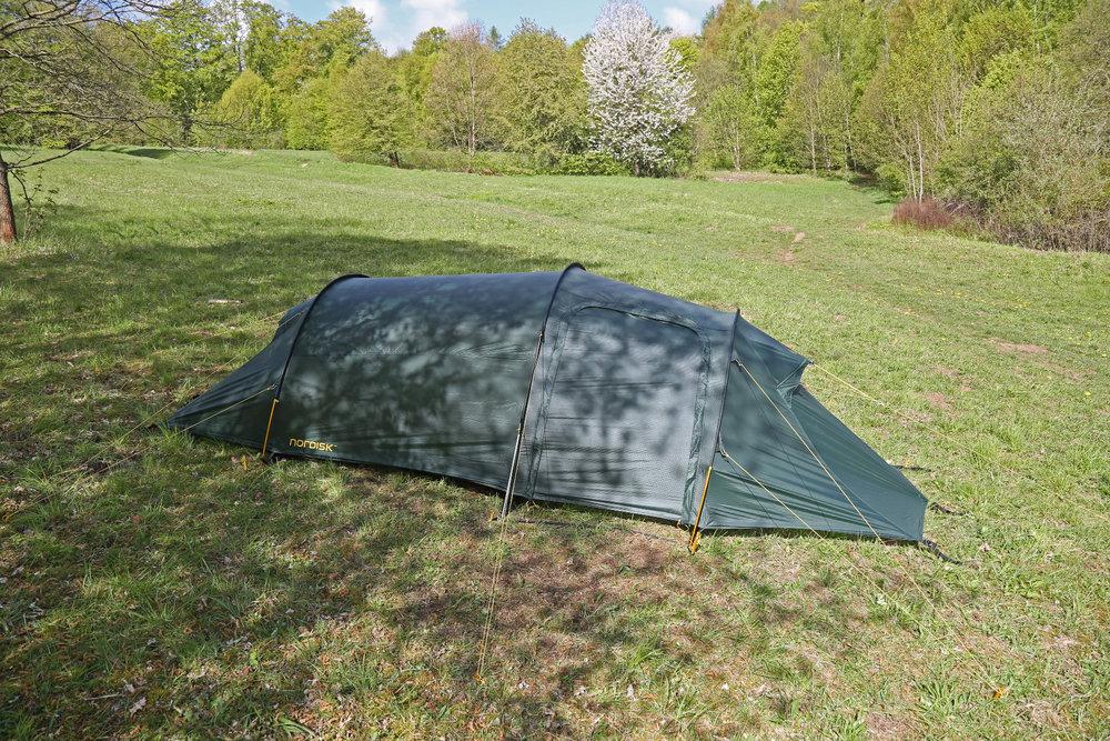 Das Zelt mit den größten Außenmaßen im Test: Nordisk Oppland 2 SI - © Bergleben.de