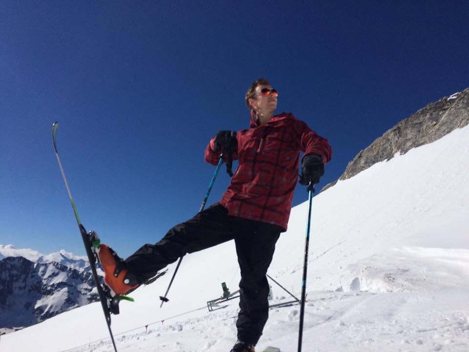 Grande Motte Glacier, Tignes June 26, 2016 - © Fred Club Med