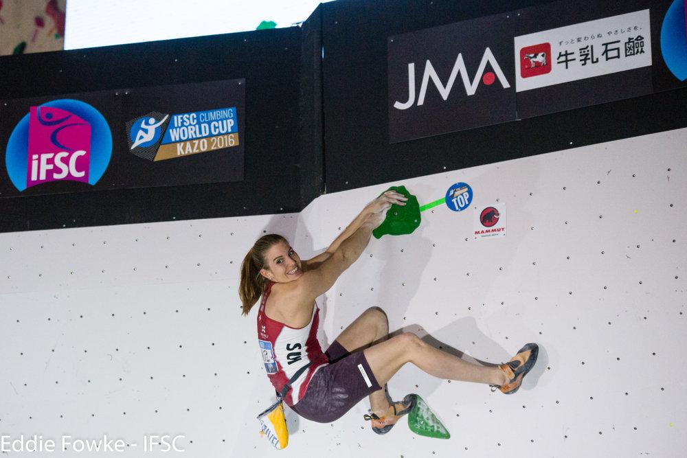 IFSC Boulder-Weltcup in Kazo (JAP) - © IFSC / Eddie Fowke