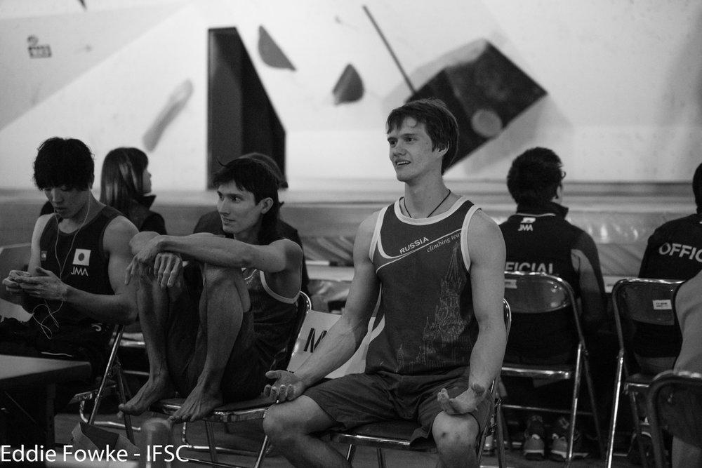 Rustam Gelmanov und Alexey Rubtsov  - © IFSc / Eddie Fowke