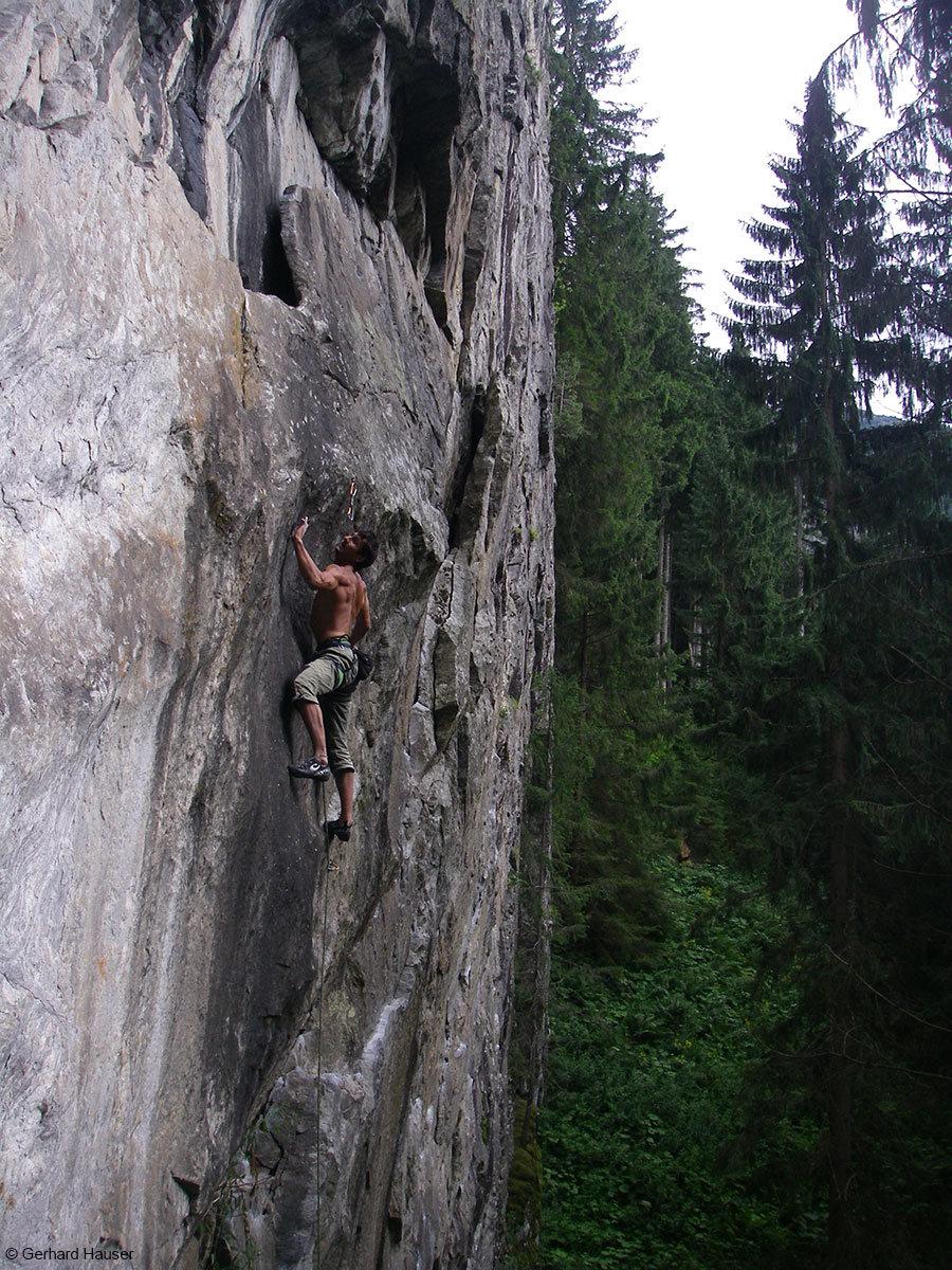 Ein Kletterausflug in die ewigen Jagdgründe ist immer ein Highlight - © Gerhard Hauser