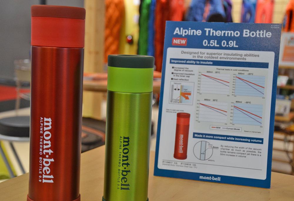 Heiß: Mont.Bell gewinnt einen OutDoor Award für seine Thermoflasche - © bergleben.de