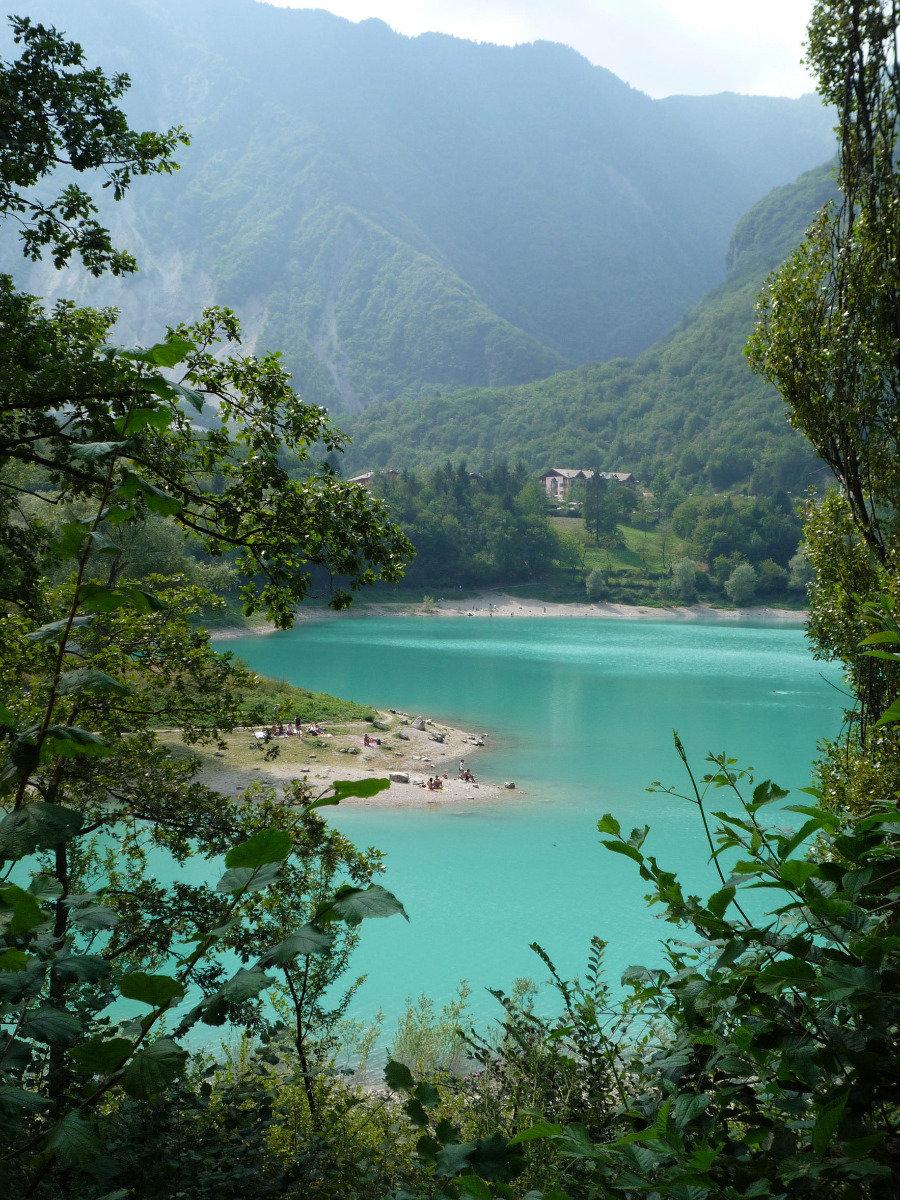 Lago di Tenno nördlich des Gradasees  - © Armin Herb