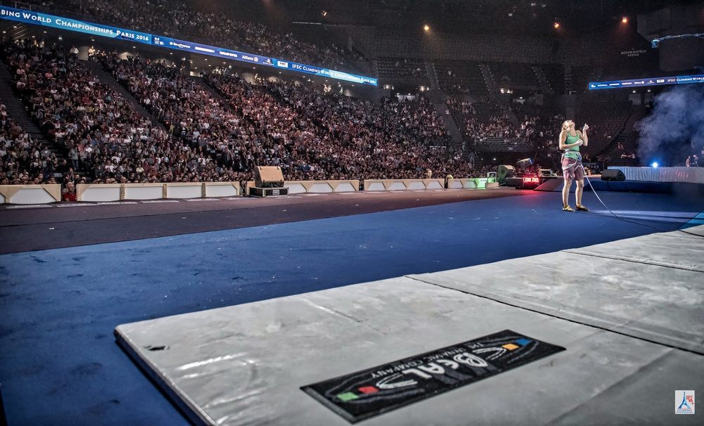Full House bei den Lead-Finals der Damen - © (c) FFME / Agence Kros - Remi Fabregue