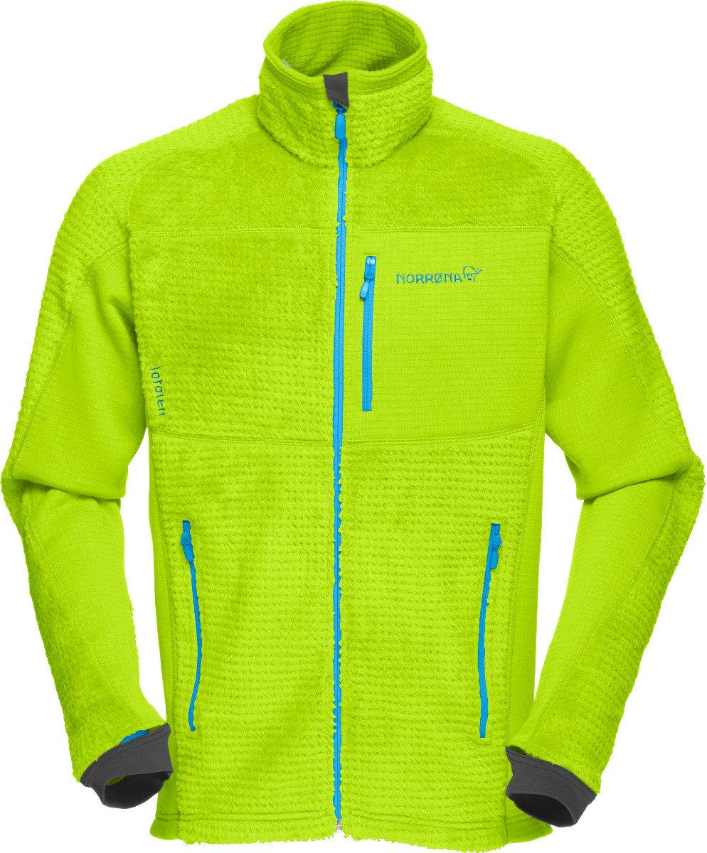 Veste Norrøna Lofoten Warm2 HighLoft Jacket (Modèle homme Birch Green) - © Norrøna