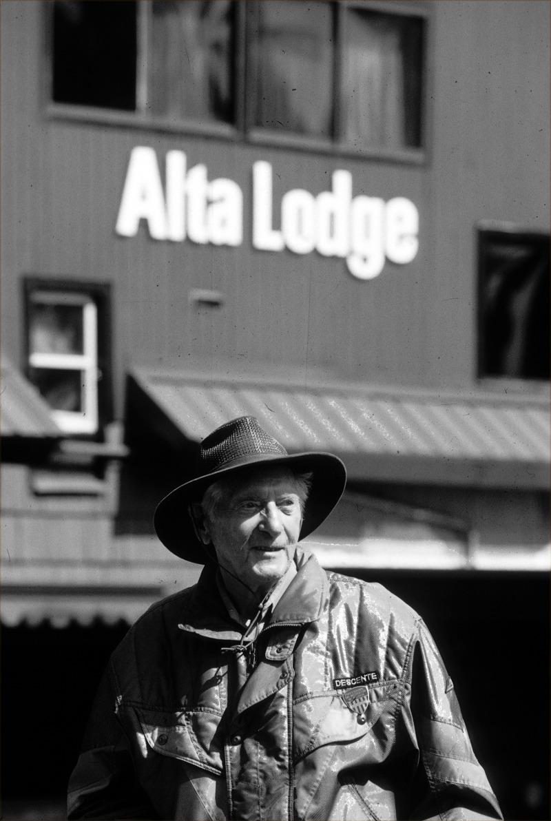 Bill leavitt, alta, Utah.  Photo courtesy of Lee Cohen