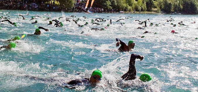 Triathlon Alpe d'Huez (photo Laurent Salino / OT Alpe d'Huez)