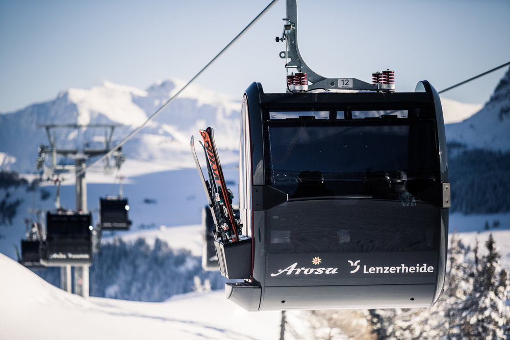 Die Lifte der Arosa Lenzerheide - © Lenzerheide Marketing und Support AG