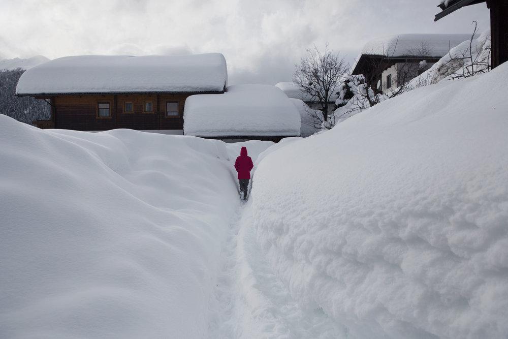 Viel Schnee in Obertilliach - © ©Tirol Werbung Heinzlmeier Bert & Monika Höfler