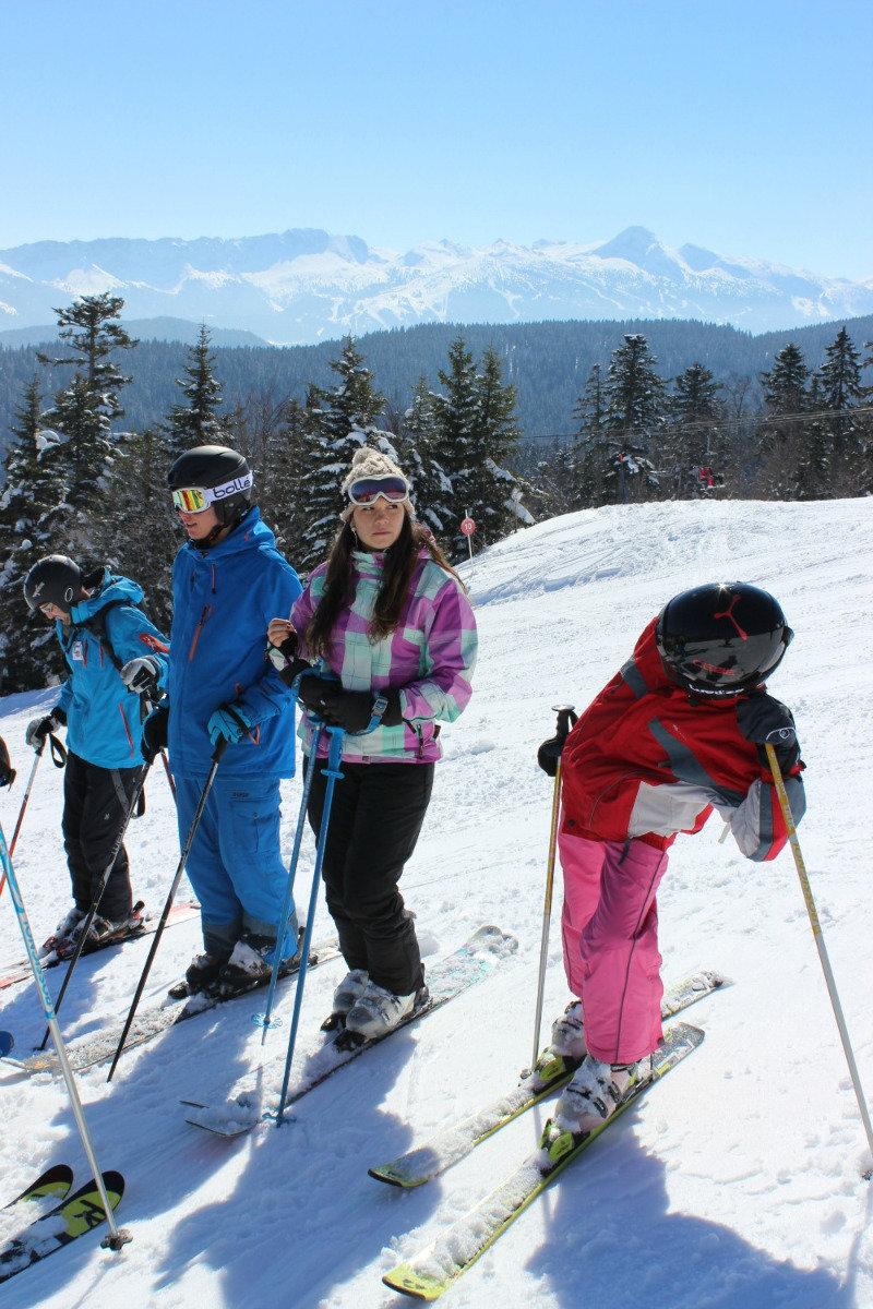 Session ski sur les pistes enneigées de Méaudre - © Office de Tourisme de Méaudre / Marion Cottaz