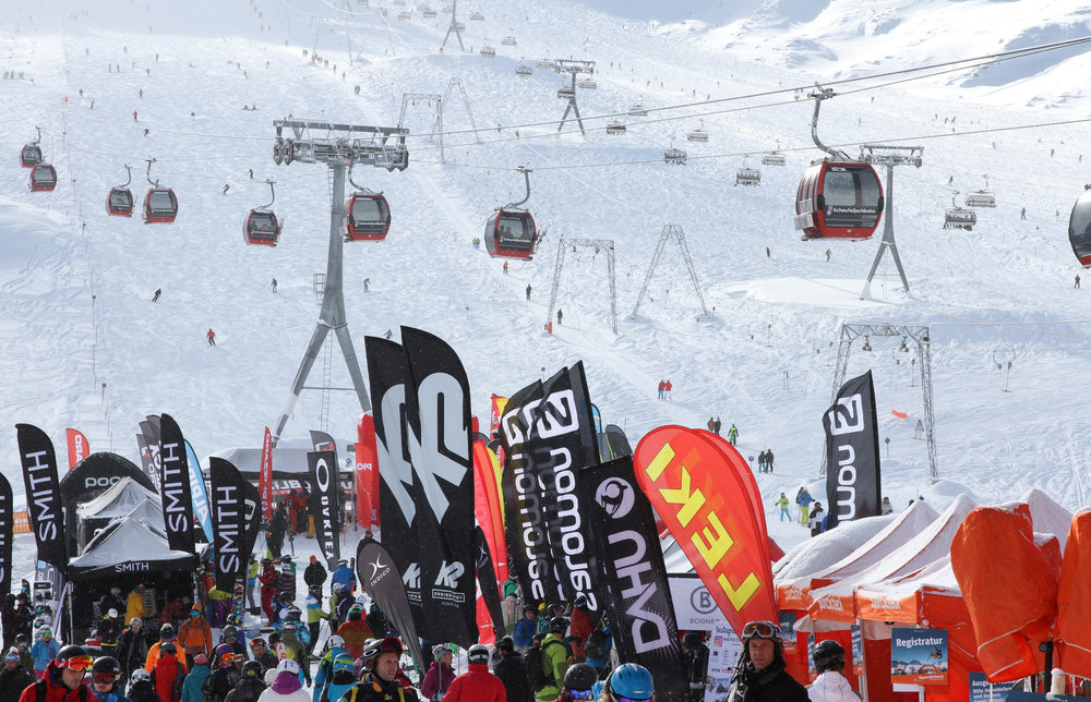 Sportscheck Testival 2016 am Stubaier Gletscher - © Skiinfo