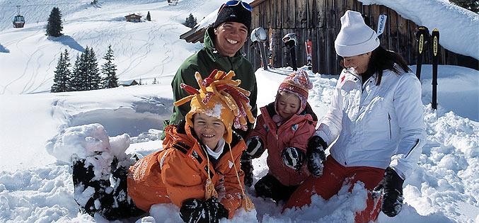 Famille ski