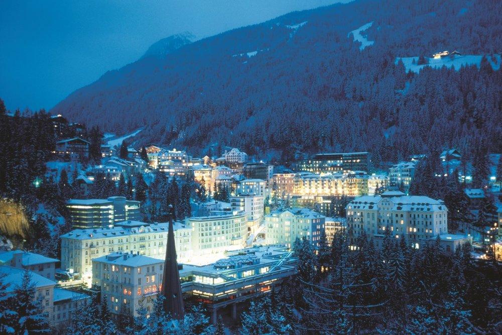 Bad Gastein bei Nacht - © Gastein Tourismus