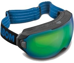 Masque de ski Abom Flash Green Mirror - © Abom