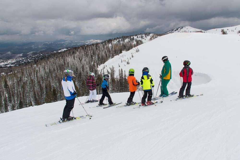 Who's ready for a black diamond? - © Deer Valley Resort