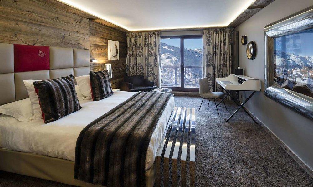 Hôtel Koh-I Nor, Hotel de luxe 5 étoiles à Val Thorens - © Hôtel Koh-I Nor Val Thorens